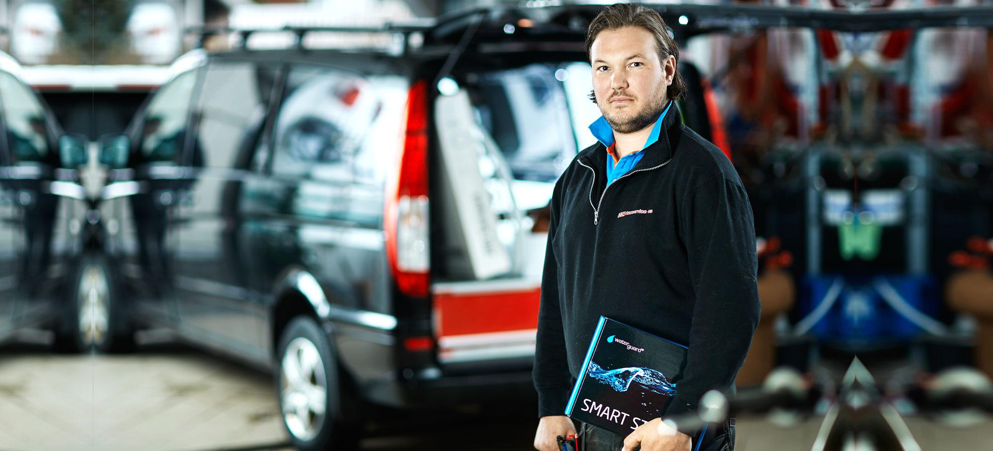 Tor Ivar Linskov monterer Waterguard