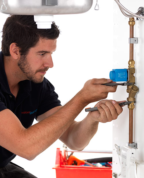Montering av Waterguard